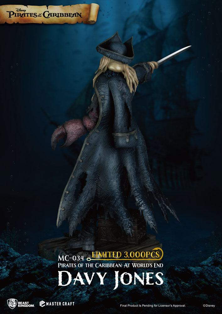 Pirates of the Caribbean: At World's End Master Craft Statue Davy Jones 42 cm