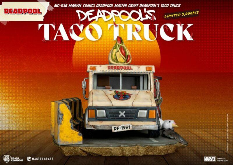 Marvel Comics Master Craft Statue Deadpool's Taco Truck 35 cm
