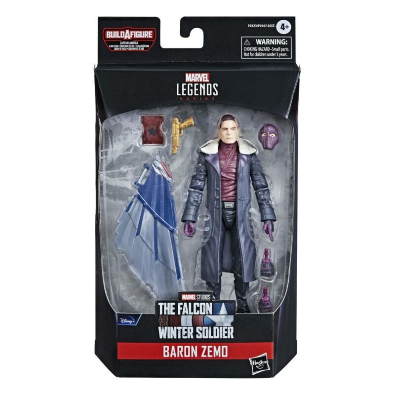 Avengers Disney Plus Marvel Legends Series Action Figures 15 cm 2021 Wave 1 Baron Zemo (The Falcon and the Winter Soldier)