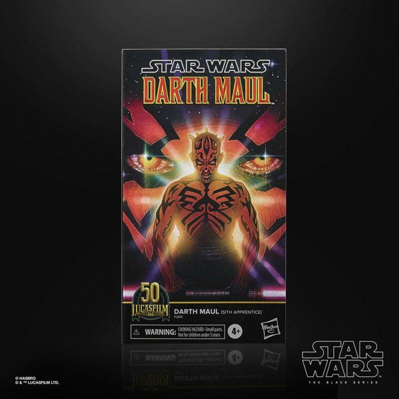 Star Wars Black Series Lucasfilm 50th Anniversary Action Figure 2021 Darth Maul (Sith Apprentice) 15 cm