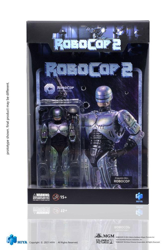 Robocop 2 Exquisite Mini Action Figure 1/18 Robocop 10 cm