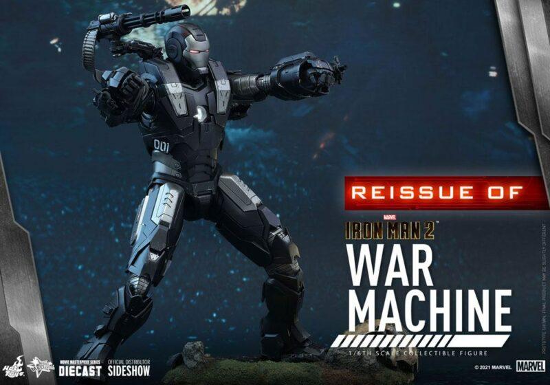 Iron Man 2 Movie Masterpiece Action Figure 1/6 War Machine 32 cm