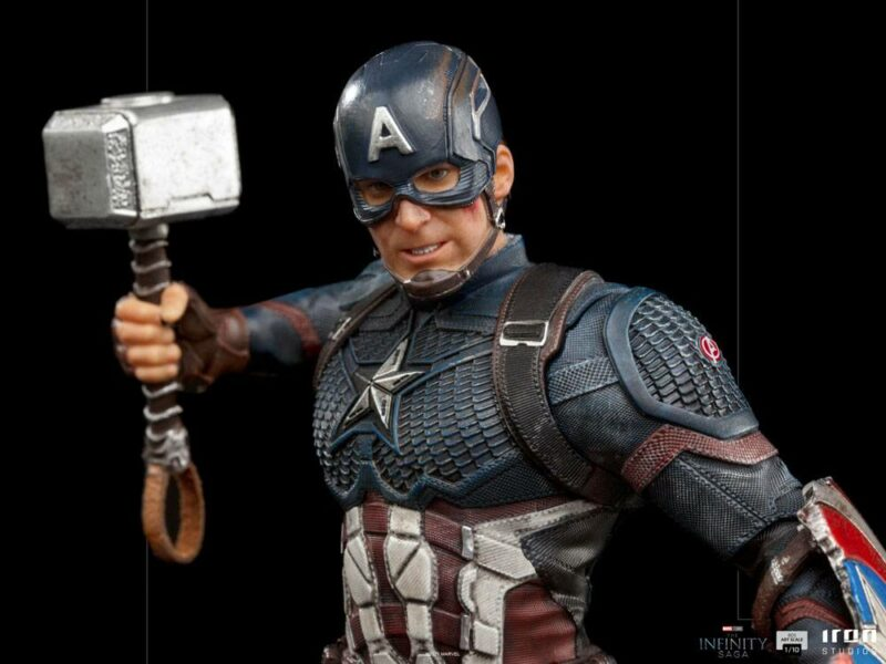 The Infinity Saga BDS Art Scale Statue 1/10 Captain America Ultimate 21 cm