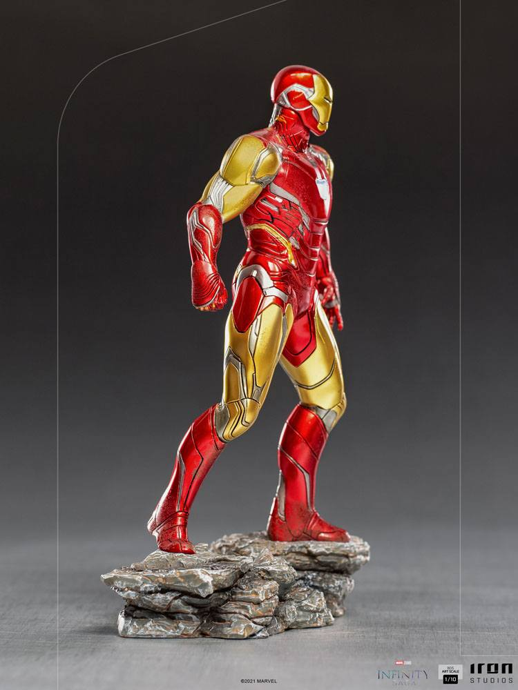 The Infinity Saga BDS Art Scale Statue 1/10 Iron Man Ultimate 24 cm