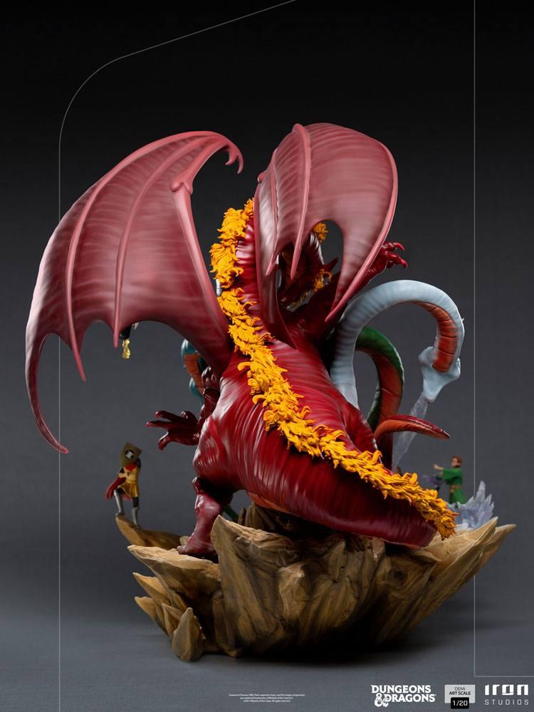 Dungeons & Dragons Demi Art Scale Statue 1/20 Tiamat Battle 56 cm