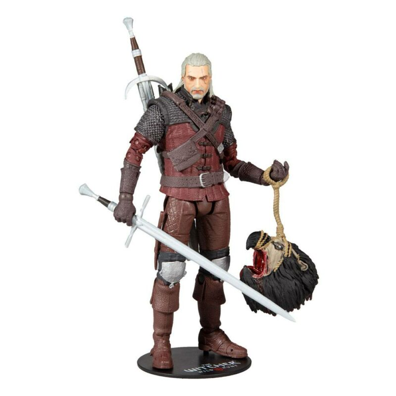The Witcher 3: Wild Hunt Action Figure Geralt of Rivia (Wolf Armor) 18 cm