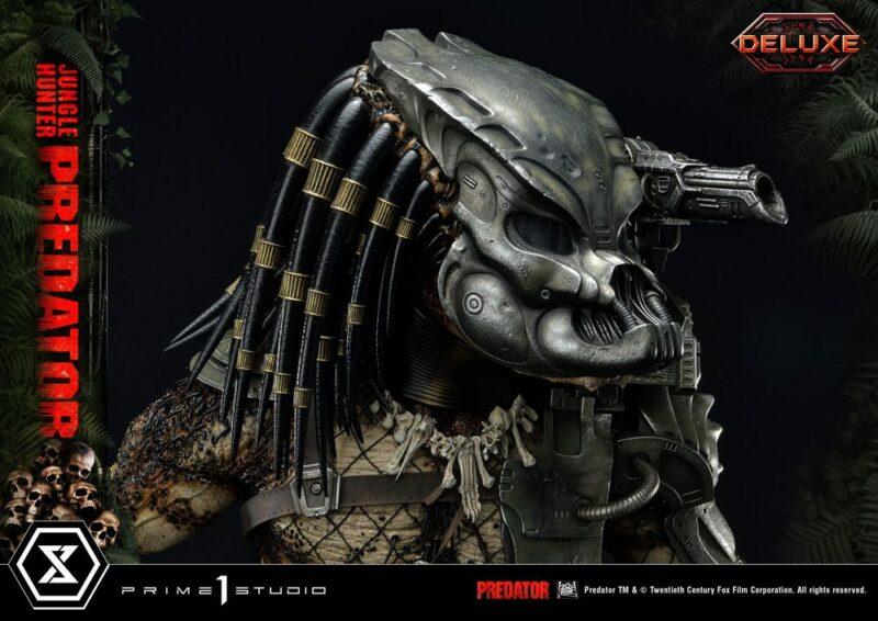 Predator Museum Masterline Statue 1/3 Jungle Hunter Predator Deluxe Bonus Version 90 cm