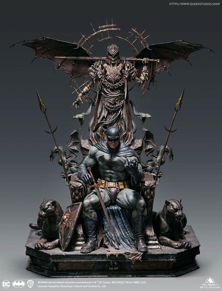 DC Comics Statue 1/4 Batman on Throne 75 cm