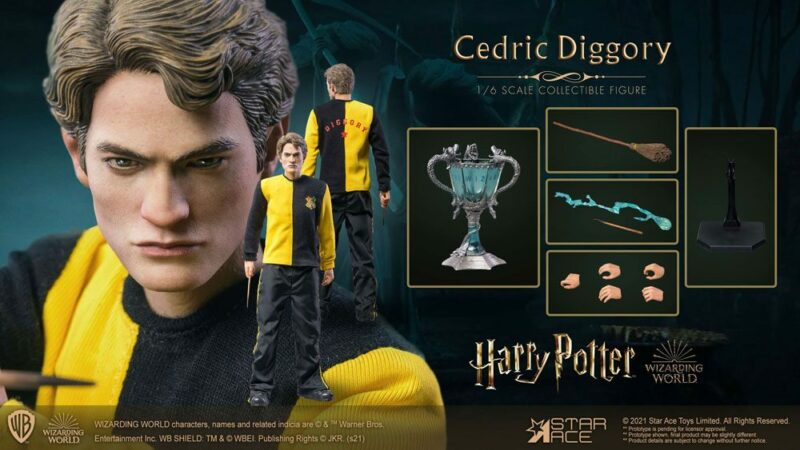 Harry Potter My Favourite Movie Action Figure 1/6 Cedric Diggory Triwizard Version 30 cm