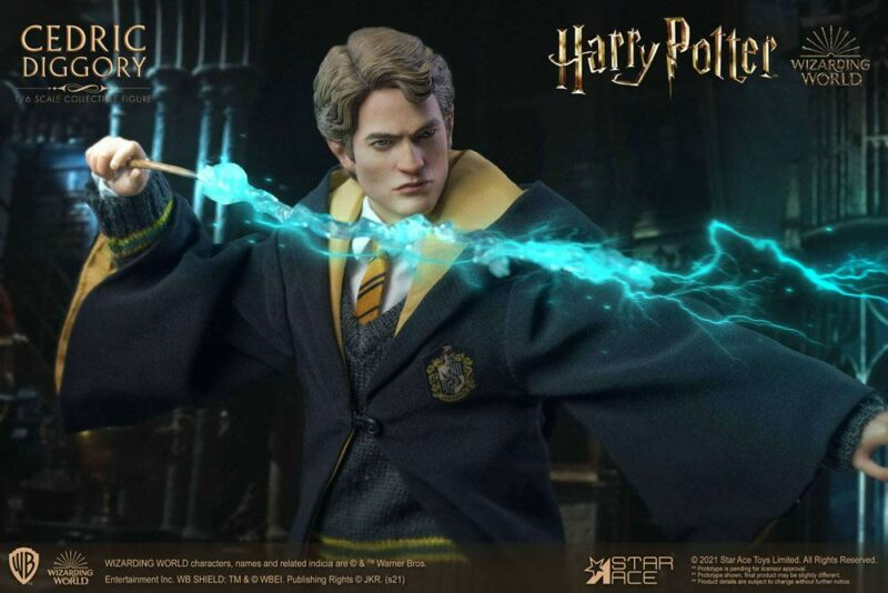 Harry Potter My Favourite Movie Action Figure 1/6 Cedric Diggory Deluxe Version 30 cm