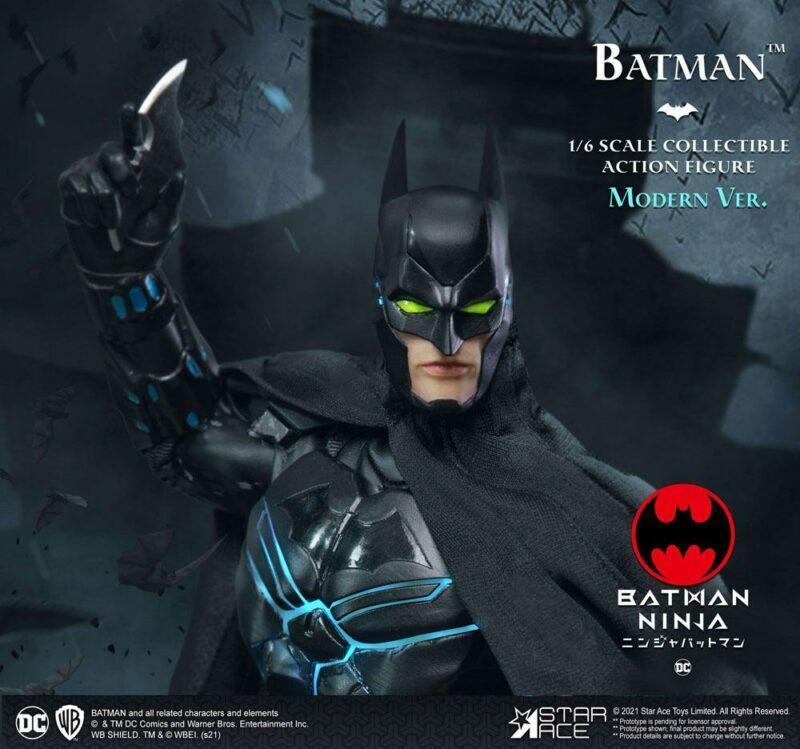 Batman Ninja My Favourite Movie Action Figure 1/6 Modern Batman Deluxe Ver. 30 cm