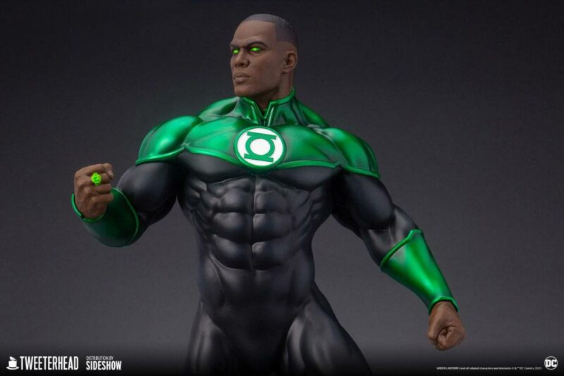 DC Comics Maquette 1/6 John Stewart - Green Lantern 52 cm