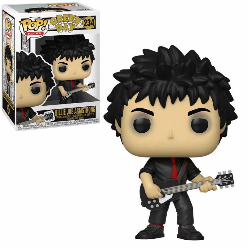 Green Day POP! Rocks Vinyl Figure Billie Joe Armstrong 9 cm