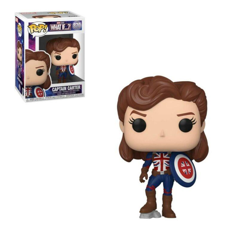 What If...? POP! Marvel Vinyl Figure Captain Carter 9 cm
