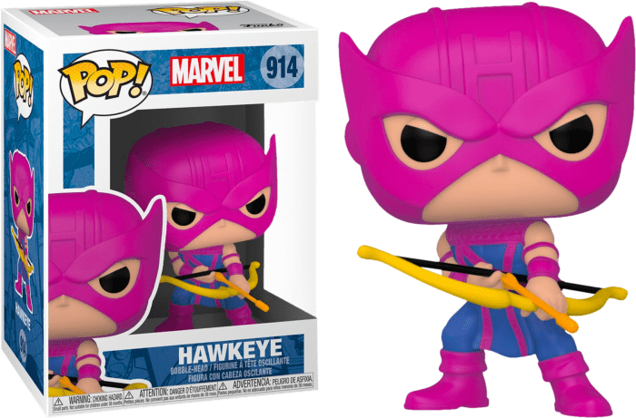 Marvel POP! Vinyl Figures Hawkeye Classic Limited 9 cm
