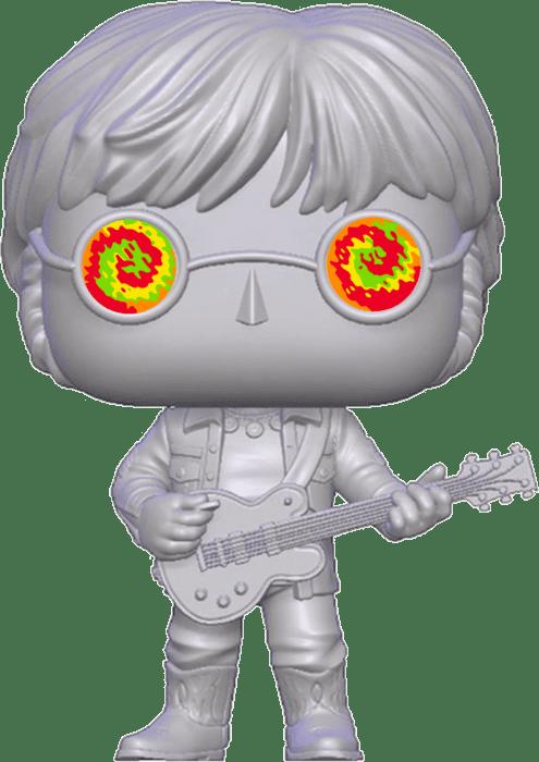 John Lennon POP! Albums Vinyl Figure John Lennon with Psychedelic Glasses Limited 9 cm