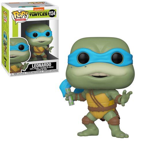 Teenage Mutant Ninja Turtles POP! Movies Vinyl Figure Leonardo 9 cm