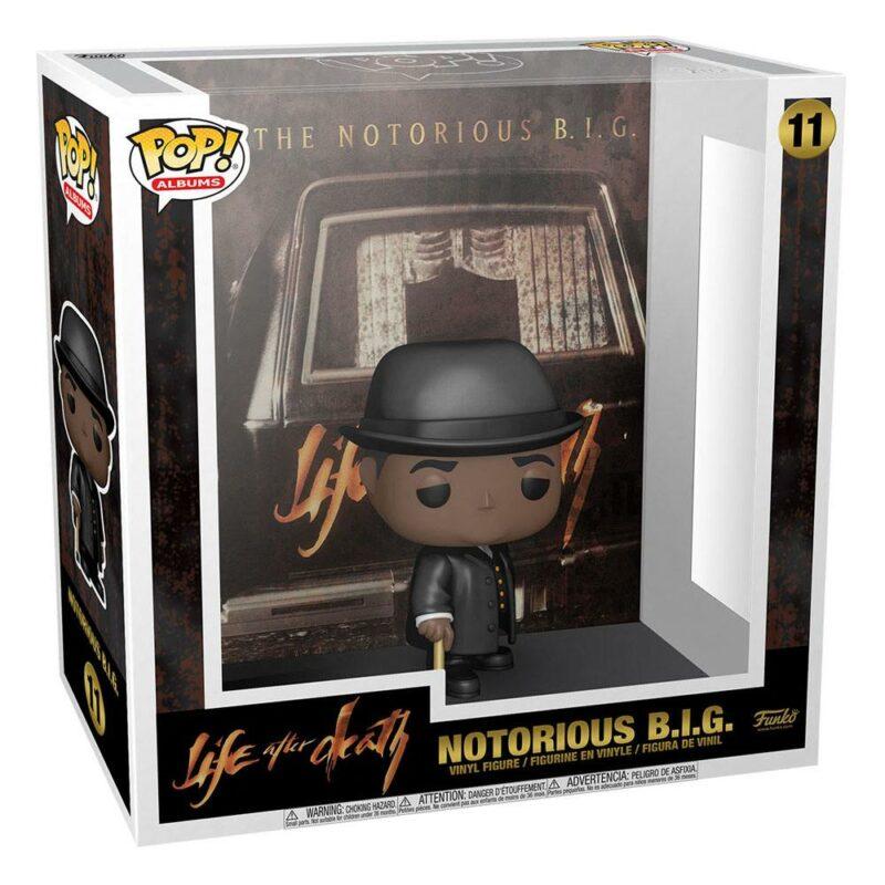 Notorious B.I.G. POP! Albums Vinyl Figure Life After Death 9 cm
