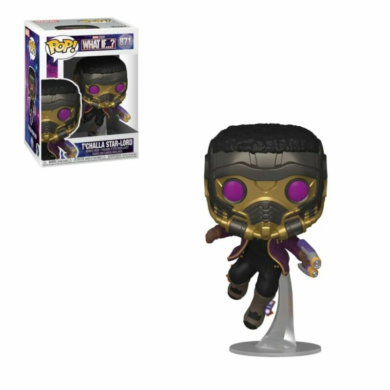 What If...? POP! Marvel Vinyl Figure T'Challa Star-Lord 9 cm