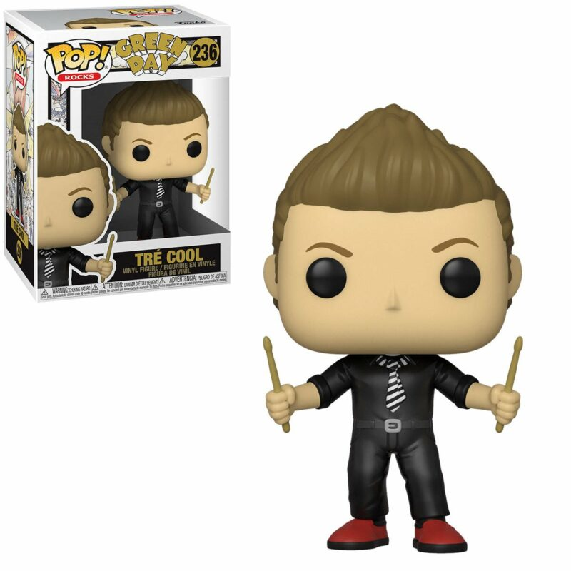 Green Day POP! Rocks Vinyl Figure Tre Cool 9 cm