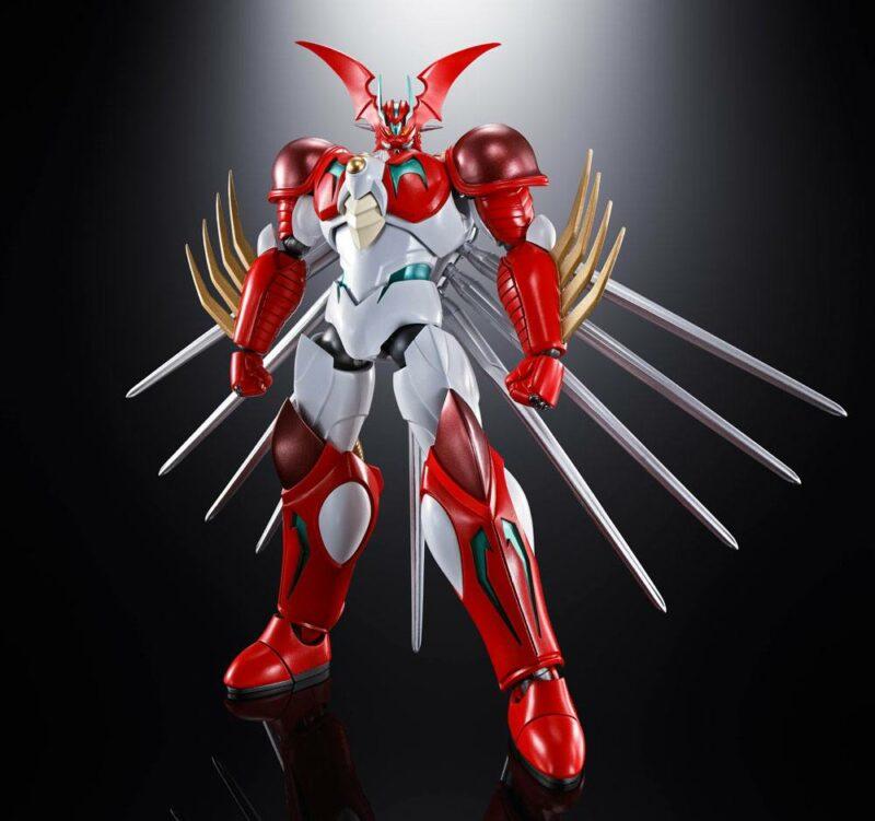 Getter Robo Arc Soul of Chogokin Diecast Action Figure GX-99 Getter Robot Arc 19 cm