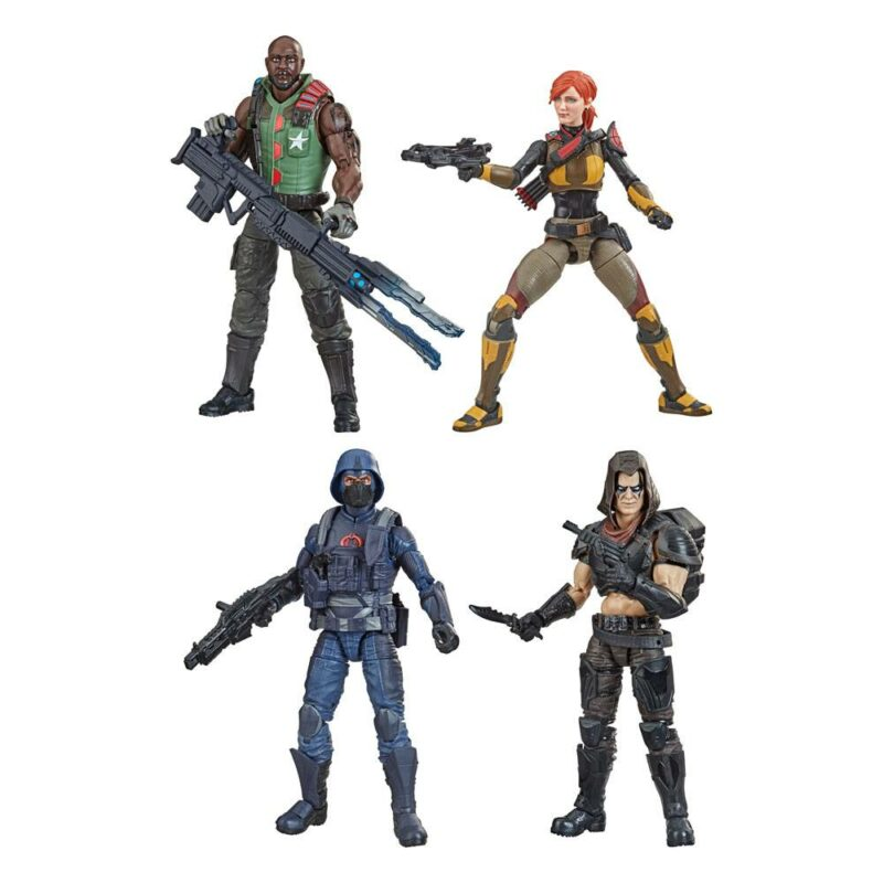G.I. Joe Classified Series Action Figures 15 cm 2021 Wave 5 Assortment (4)