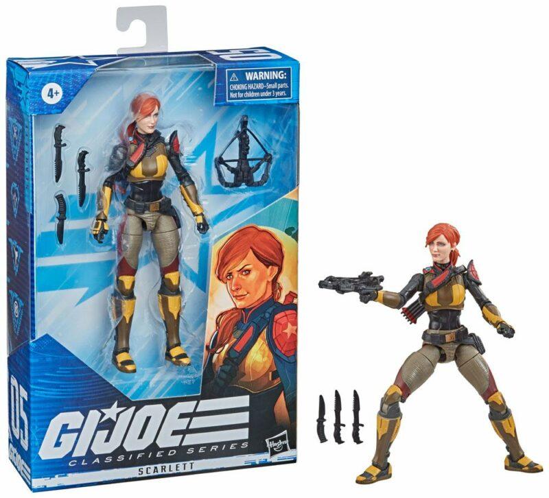 G.I. Joe Classified Series 2021 Wave 5 Action Figure Scarlett 15 cm