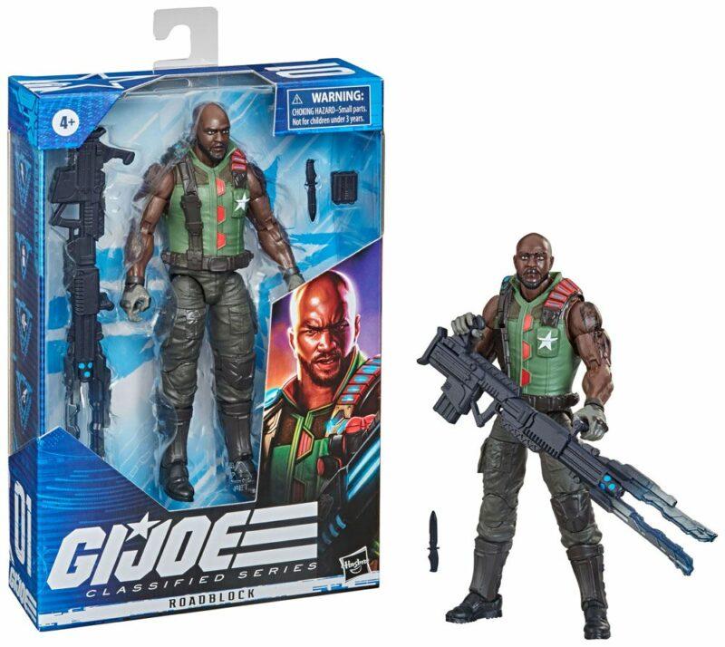 G.I. Joe Classified Series 2021 Wave 5 Action Figure Roadblock 15 cm