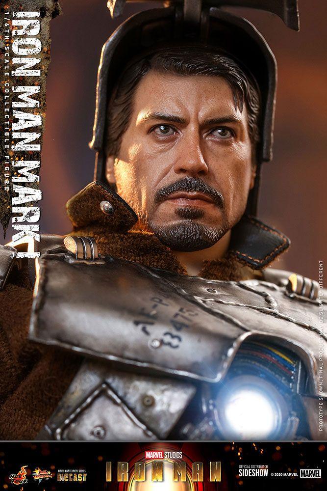 Iron Man Movie Masterpiece Action Figure 1/6 Iron Man Mark I 30 cm