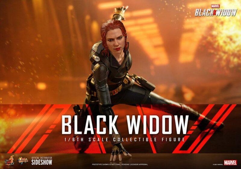 Black Widow Movie Masterpiece Action Figure 1/6 Black Widow 28 cm