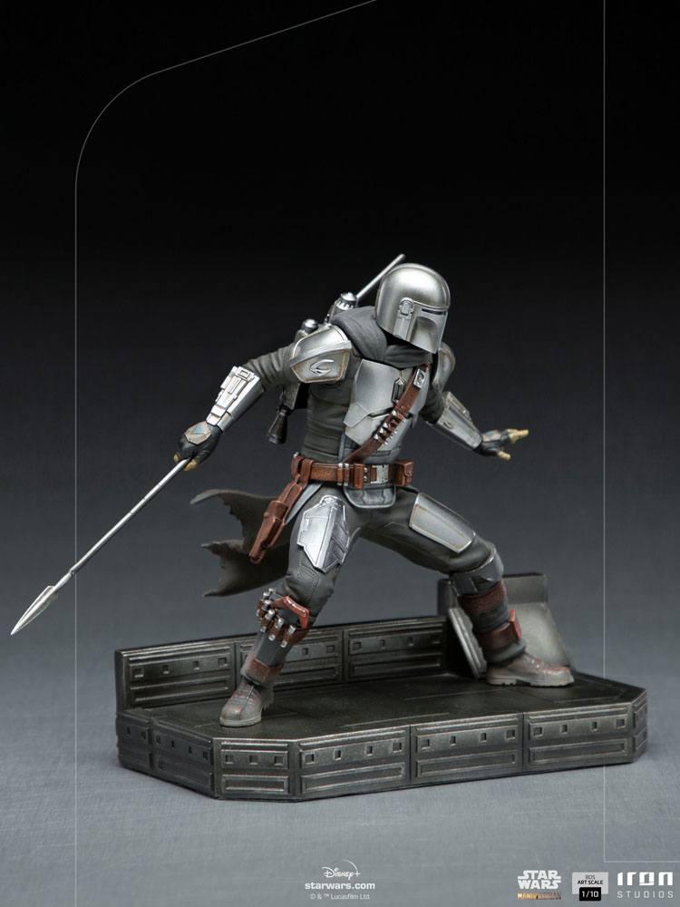 Star Wars The Mandalorian BDS Art Scale Statue 1/10 Mandalorian 20 cm