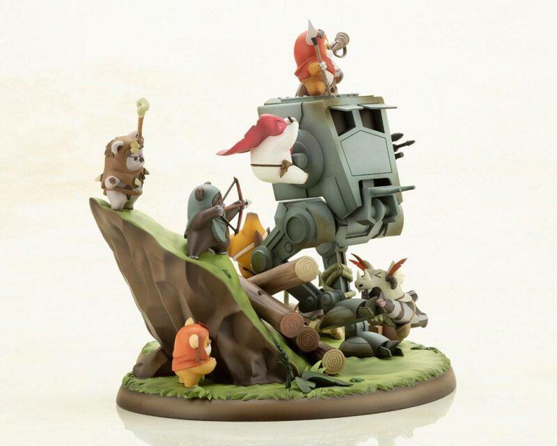 Star Wars ARTFX PVC Statue Battle of Endor The Little Rebels 19 cm