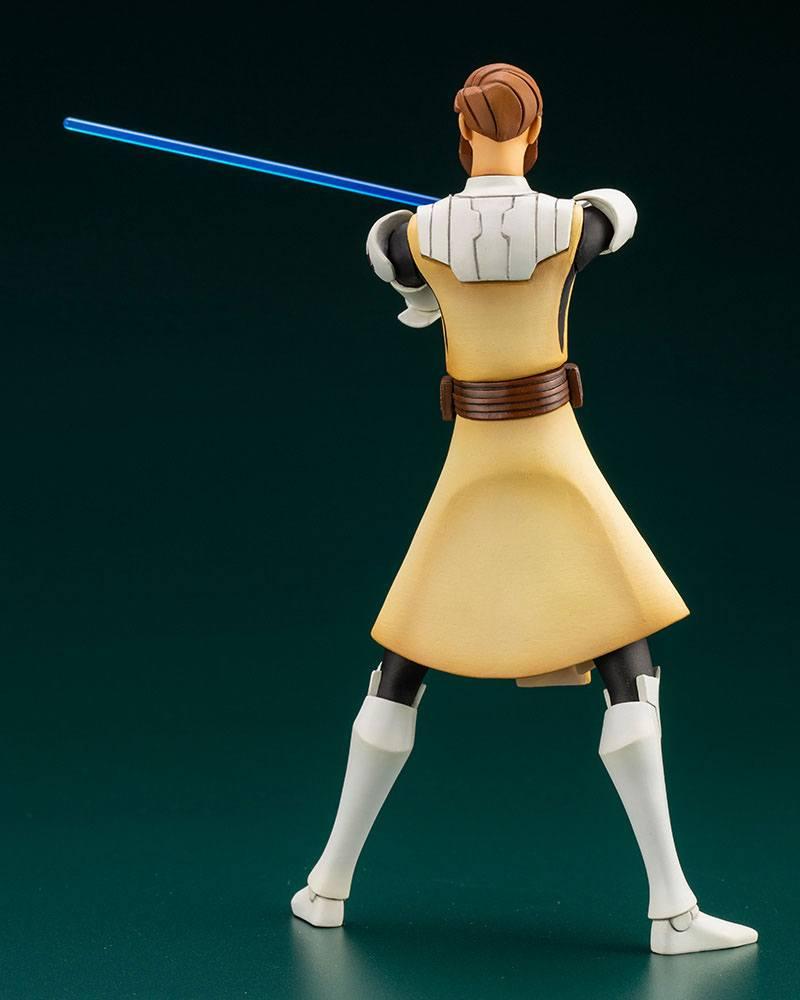 Star Wars The Clone Wars ARTFX+ PVC Statue 1/10 Obi-Wan Kenobi 17 cm