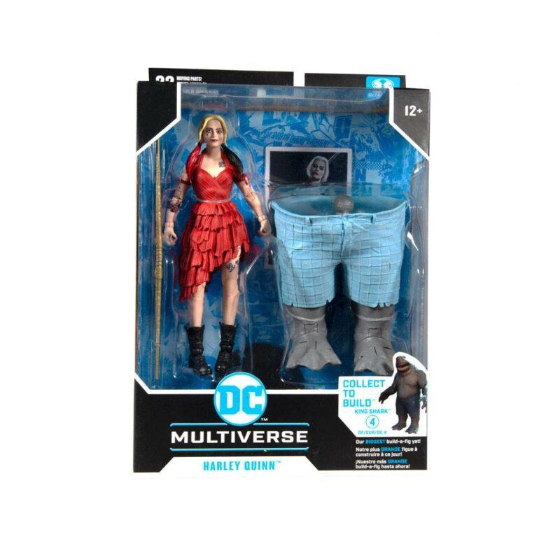 Suicide Squad Build A Action Figure Harley Quinn 18 cm