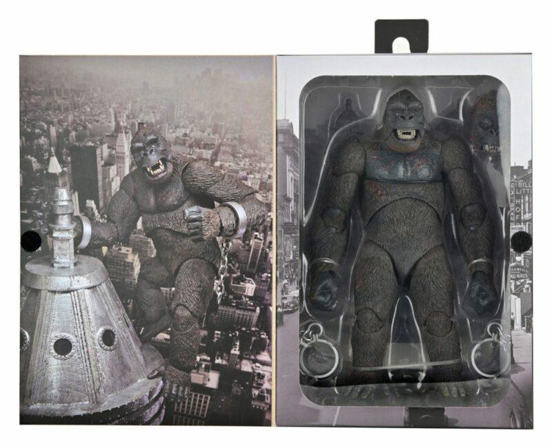 King Kong Action Figure Ultimate King Kong (Concrete Jungle) 20 cm