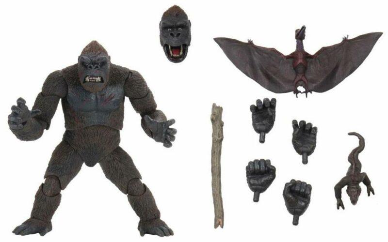 King Kong Action Figure Ultimate Ultimate Island Kong 20 cm
