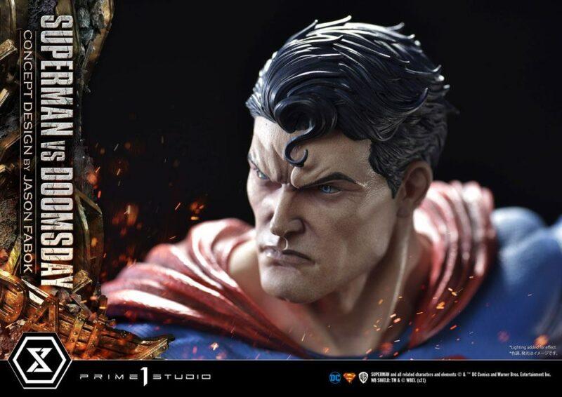 DC Comics Statue 1/3 Superman Vs. Doomsday by Jason Fabok 95 cm