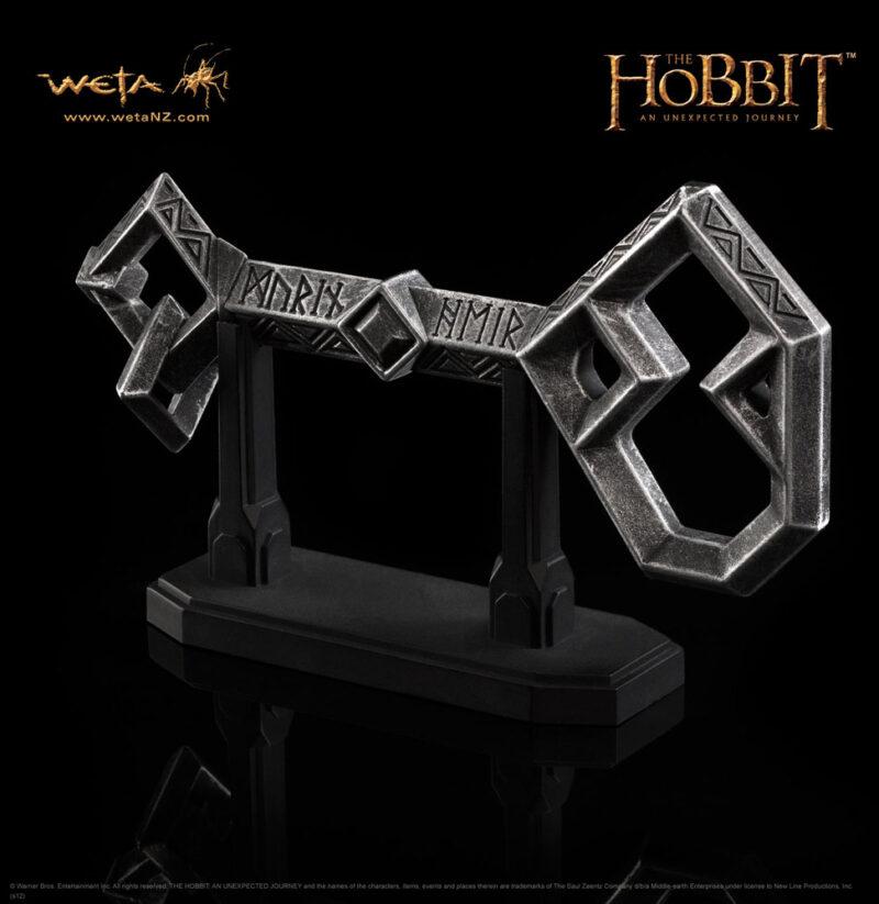 The Hobbit Replica 1/1 Key to Erebor 13 cm