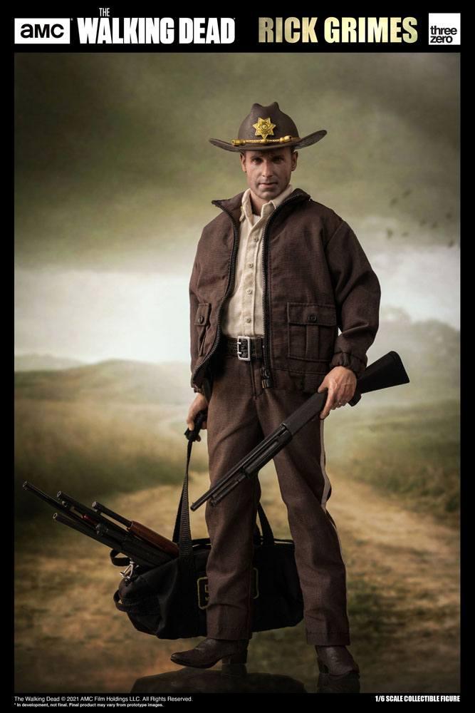 The Walking Dead Action Figure 1/6 Rick Grimes (Season 1) 30 cm