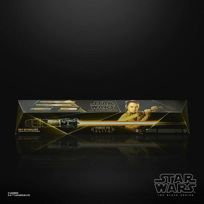 Star Wars Episode IX Black Series Replica 1/1 Force FX Elite Lightsaber Rey Skywalker