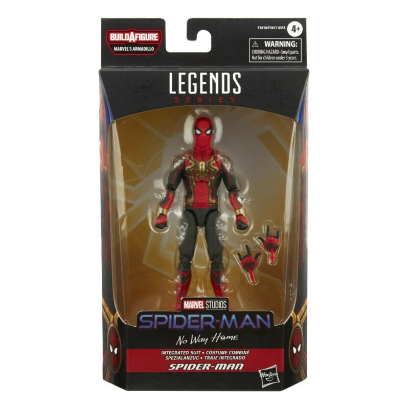 Spider-Man Marvel Legends Series 2022 Wave 1 Action Figure Spider-Man (Integrated Suit) (Spider-Man: No Way Home) 15 cm