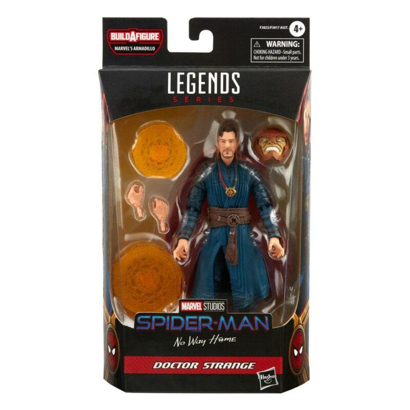 Spider-Man Marvel Legends Series 2022 Wave 1 Action Figure Doctor Strange (Spider-Man: No Way Home) 15 cm