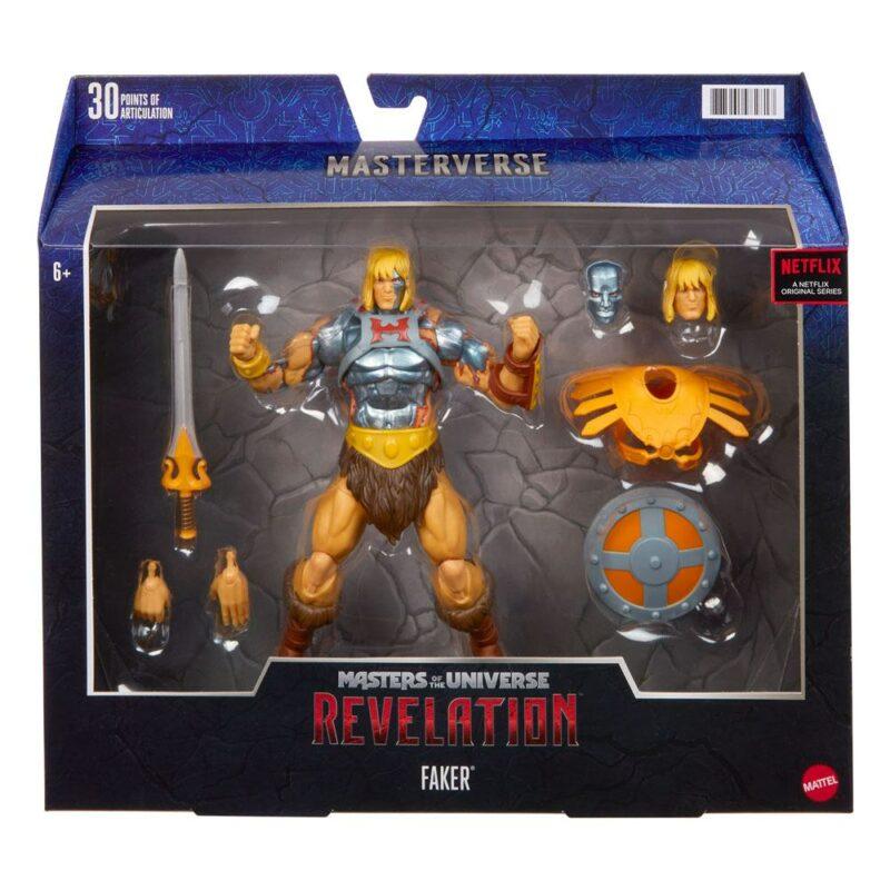 Masters of the Universe: Revelation Masterverse Action Figure 2021 Faker 18 cm