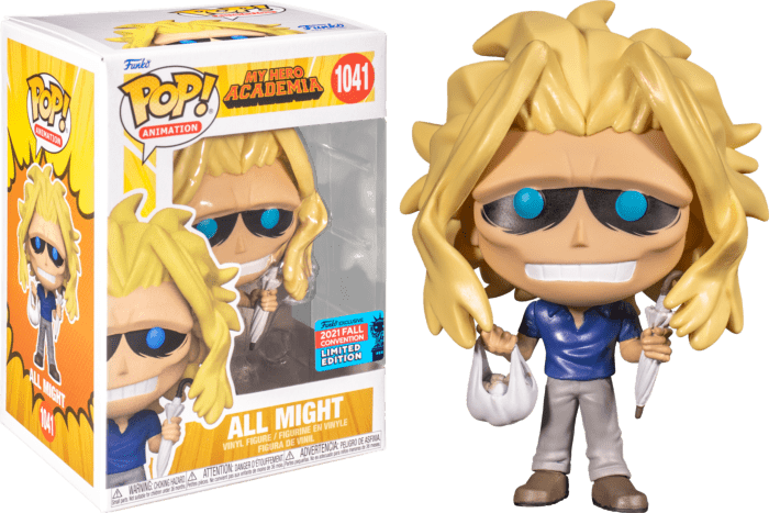 My Hero Academia POP! Vinyl Figure All Might (2021 Fall Convention Exclusive)