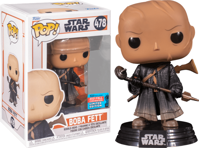 Star Wars: The Mandalorian POP! Vinyl Figure Boba Fett (2021 Fall Convention Exclusive)