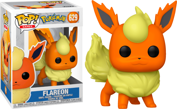 Pokemon POP! Vinyl Figure Flareon Limited 9 cm