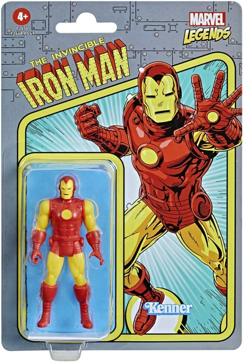 Marvel Legends Retro 2021 Action Figure Iron Man 15 cm