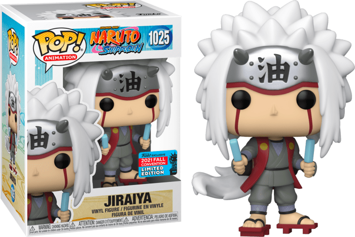 Naruto Shippuden! Vinyl Figure Jiraiya (2021 Fall Convention Exclusive)