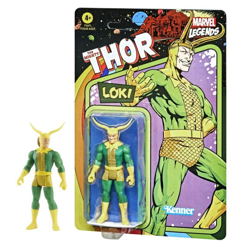 Marvel Legends Retro 2021 Action Figure Loki 15 cm