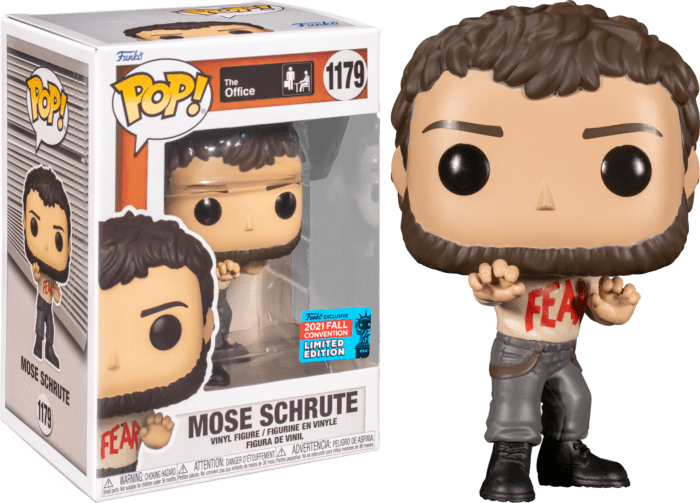 The Office Vinyl Figure Mose Schrute (2021 Fall Convention Exclusive)